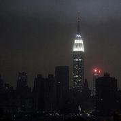 Nuit de silence à New York après le passage de Sandy