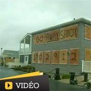 L'Amérique au ralenti en attendant Sandy