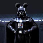 Dark Vador en Mickey.
