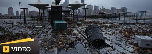 Scènes de désolation dans le New Jersey après le passage Sandy