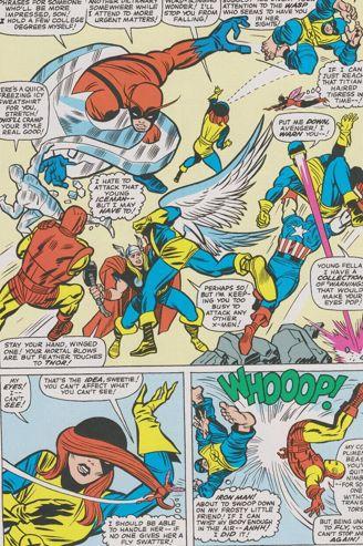 Épisode des X-Men écrit par Stan Lee et dessiné par Jack Kirby. (Marvel Comics)
