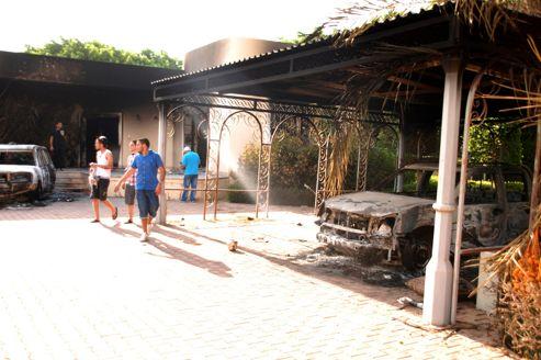 Le consulat américain a été pris pour cible dans la nuit du 11 au 12 septembre.