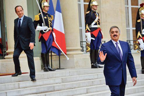 François Hollande, qui effectuera dimanche son premier voyage au Moyen-Orient depuis son élection, recevait en juin dernier à l'Élysée le prince Mitaeb Ben Abdallah, chef de la Garde nationale et ministre d'État saoudien.