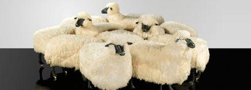Les moutons de François-Xavier Lalanne aux enchères