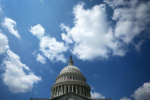 La coupole du Capitole, à Washington, qui hébèrge le Congrès.