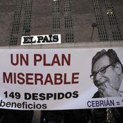 El País s'enfonce dans la crise