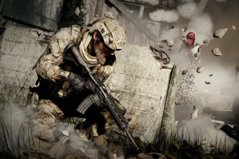 Illustration du jeu <i>Medal of Honor Warfighter</i>.