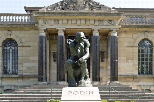 L'entrée du Musée consacré à Auguste Rodin à Meudon. (Le musée Rodin Meudon)