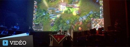 Les joueurs de League of Legends s'offrent un tournoi à Paris