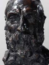 Le Buste de Rodin , par Camille Claudel. (musée-rodin.fr)