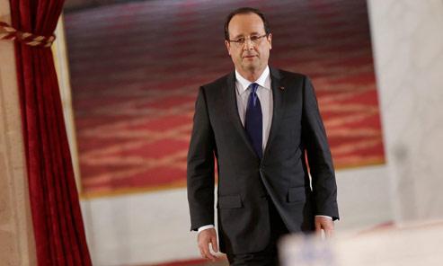 EN DIRECT - Hollande tient sa première conférence de presse à l'Élysée