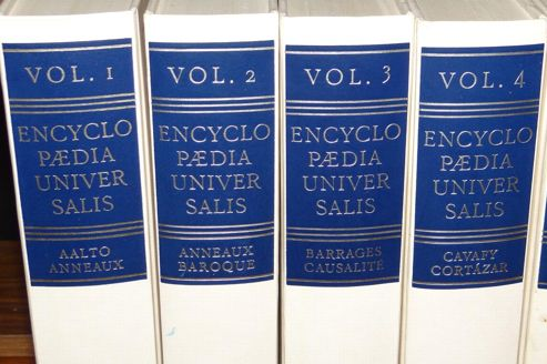 encyclopedie universalis informations
