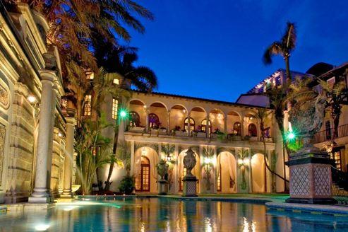 L'ancienne villa de Gianni Versace en vente à prix cassé