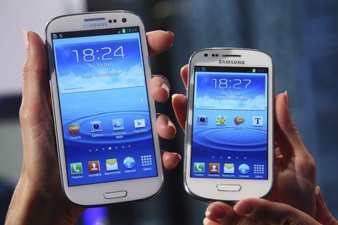 Le Galaxy SIII, décliné en SIII mini, dope les ventes de smartphones de Samsung.