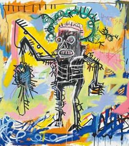 Untitled de 1981 de Jean-Michel Basquiat. (Christie's)