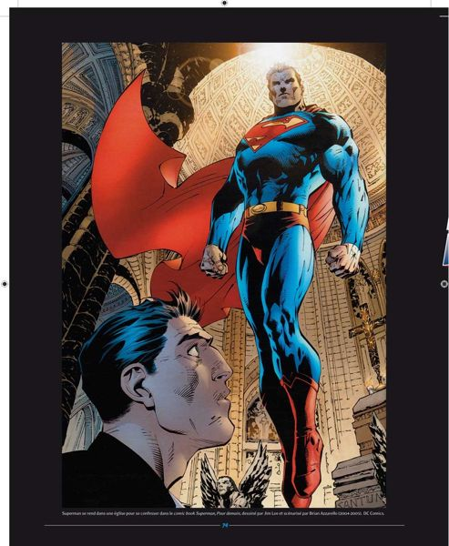 Superman est le premier super-héros qui a enthousiamé le grand public sur grand écran. ©DC Comics