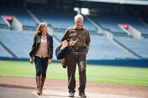Avec Amy Adams, qui interprète sa fille dans  Une nouvelle chance , son 77ème rôle au cinéma.