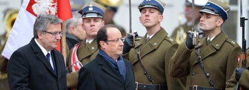 Hollande cajole la Pologne