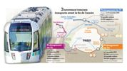 Le tramway transportera un million de passagers en 2020