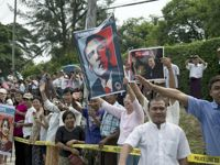 Une foule compacte attendait Barack Obama.