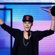 Bieber domine les American Music Awards