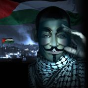 Les Anonymous attaquent Israël
