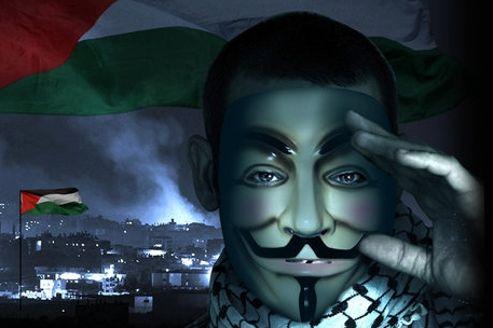 Le collectif Anonymous a attaqué plus de 650 sites gouvernementaux israéliens. (DR)
