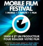 L'affiche du Mobile Film Festival.