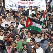 Manifestations contre le roi en Jordanie