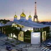 Le projet d'église russe du quai Branly modifié