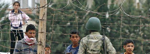 La Turquie tente de freiner <br/>l'afflux de réfugiés syriens