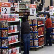 Tactiques de choc dans les magasins américains