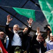Le Hamas parade à Gaza qui fête la «victoire»