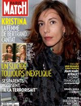 Krisztina Rady en couverture du Paris Match daté du 22 novembre 2012. Crédits photo: Paris Match.
