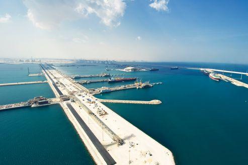 Situé à 80 km au nord de Doha, le port de Ras Laffan est l'un des plus grands centres d'exportation de gaz naturel liquéfié dans le monde.