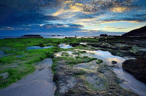 Le littoral sud-australien montre une grande variété de paysages. Ici, le Parc national de Coffin Bay.