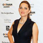 Marion Cotillard aux Gotham Awards 2012.