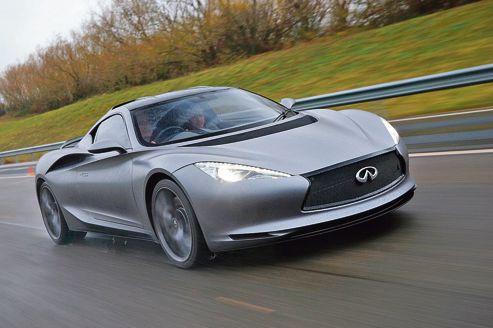 L'autonomie de ce puissant coupé électrique est de 480km.