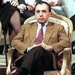 Bruno Mégret en 1993, à Toulon. Il est numéro 2 de 1988 à la scission qu'il provoque, en 1998, pour fonder le MNR.