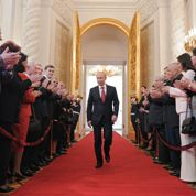 Poutine veut une Russie forte et patriotique