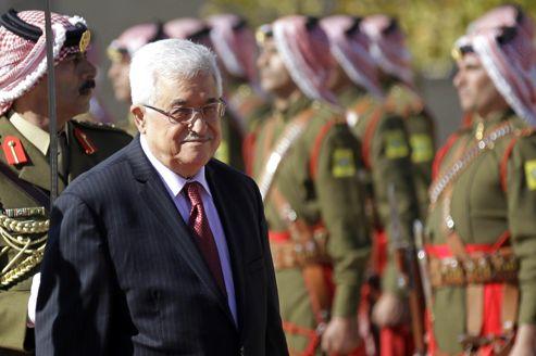 Mahmoud Abbas le 2 décembre lors d'une visite en Jordanie.