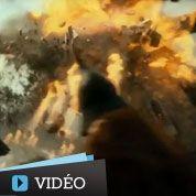 The Hobbit : Smaug détruit une ville