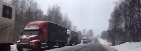 Bloqués trois jours dans des embouteillages en Russie