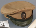 La casquette de campagne d'officier de l'armée impériale russe du grand-duc Nicolas Nikolaïevitch Romanov, commandant suprême des armées au début de la Première Guerre mondiale