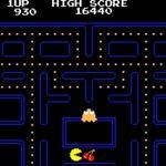 Pac-Man en 1980. Crédits photo: Tōru Iwatani of NAMCO LIMITED, now NAMCO BANDAI Games Inc.