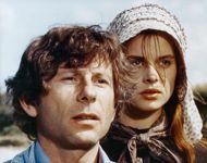 Nastassja Kinski et Roman Polanski sur le tournage de  Tess .