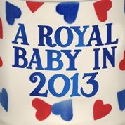 Le «Royal baby» inspire les marchands anglais