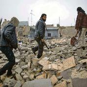 Des militaires français avec les rebelles syriens