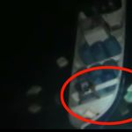 À la vue des militaires, les passeurs se sont empressés de jeter la cocaïne par-dessus bord.