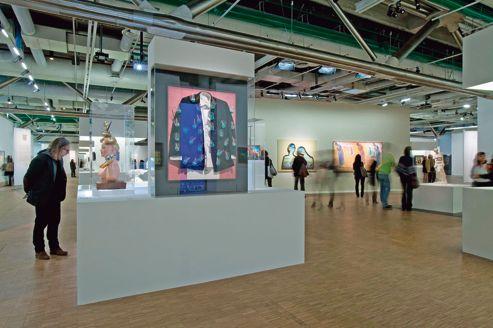Exposition Salvador Dali au Centre Pompidou, à Paris.